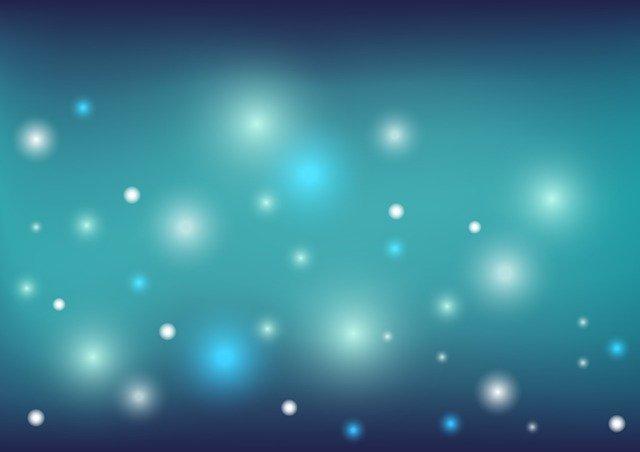 Fondo azul verdoso con diferentes luces para simbolizar el don sobrenatural de esos personajes que saben otro idioma sin saberlo